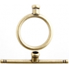 Brass Antique Toggle Circle End C Plain 15mm